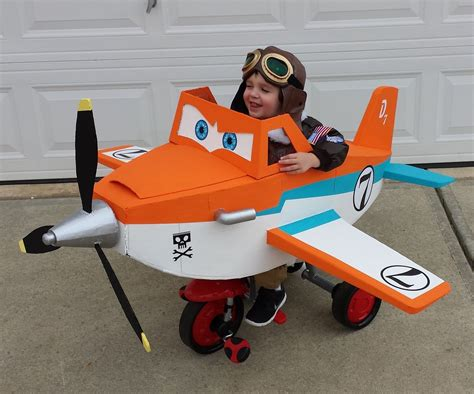 Disney Planes Dusty Crophopper Costume 10 Steps with