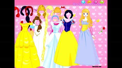 Disney Princess 12 Princess Dress Up Games