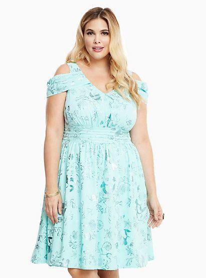 Disney Princess Ariel Print Swing Dress Torrid