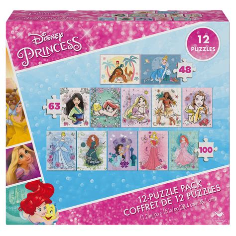 Disney Princesses online puzzles 12 puzzles to play