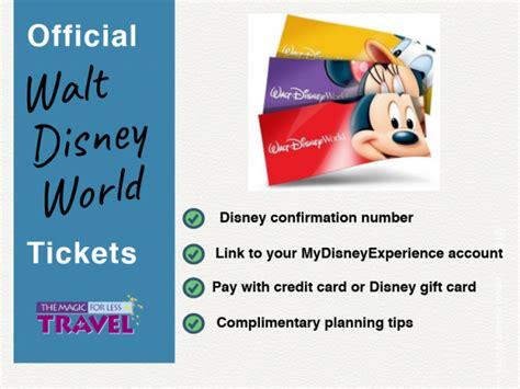 Disney World Discount Tickets Tickets to Walt Disney