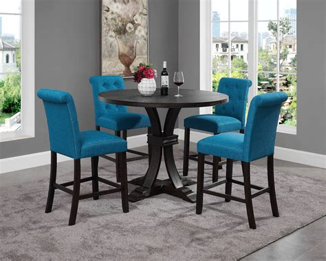 Distressed Black Chairs Images Dining Pinterest Table And