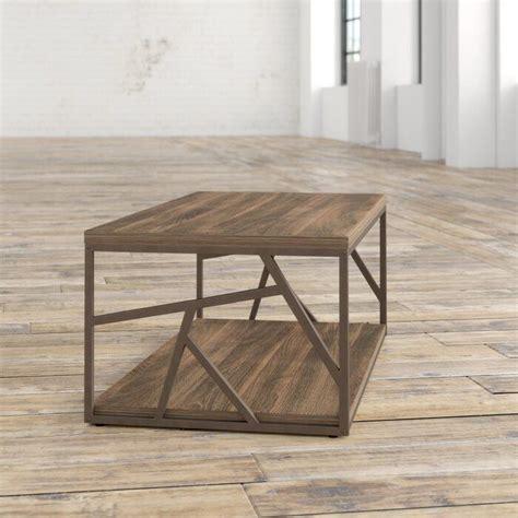 Distressed Wood Coffee Table Wayfair ca