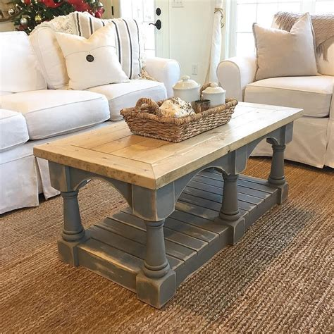 Distressed coffee tables Etsy CA
