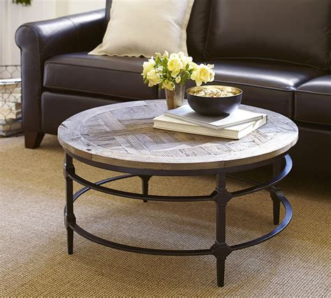 Distressed wood coffee tables Pottery Barn