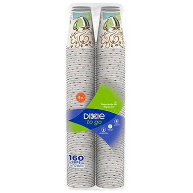 Dixie PerfecTouch Insulated Paper Cups Coffee Haze 8 oz