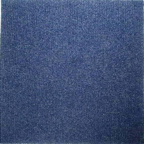 Do It Yourself Blue Carpet Tiles 144 Square Feet