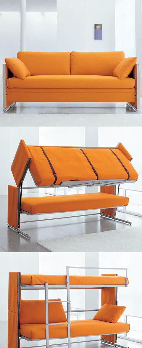 Doc Is A Sofa That Turns Into A Bunk Bed Cool Things