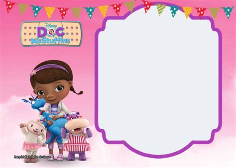 Doc McStuffins Free Printable Invitations Is it for