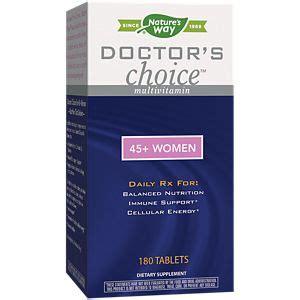 Doctor s Choice For 45 Women 180 Vitamin Shoppe