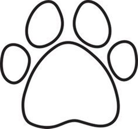 Dog Bone and Paw Print Coloring Page Lee Hansen