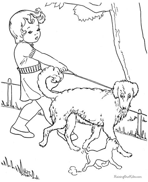 Dog Coloring Pages Free and Printable Raising Our Kids