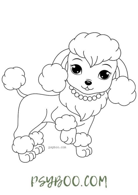 Dog Coloring Pages Printables Education