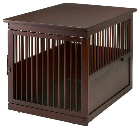 Dog Crate End Table Houzz