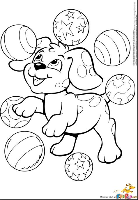 Dogs Coloring Pages and Printable Activities