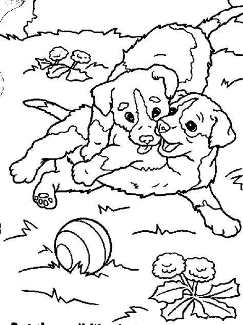 Dogs Coloring Pages page 2