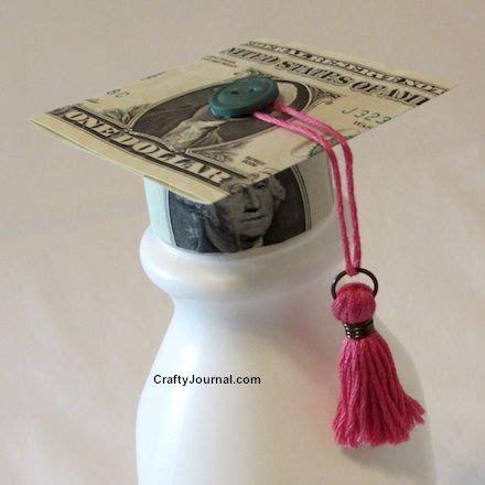Dollar Bill Graduation Cap Crafty Journal