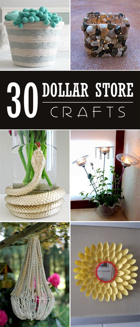 Dollar Store Crafts Cool Craft Ideas from Dollar Store Finds