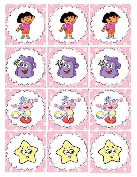 Dora party printables Measured by the Heart