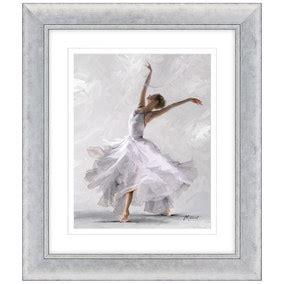 Dorma Elegant Dancer Framed Print Dunelm