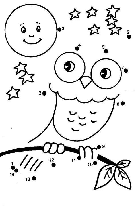 Dot to Dot Free Colouring Pages Childrens Printables