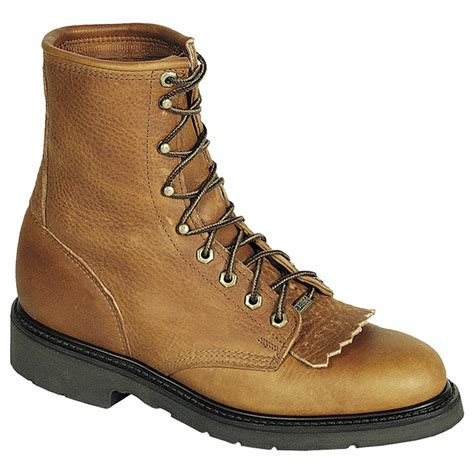 Double H Boots Mens Men s 8 Domestic Work Lacer