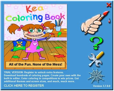 Download Coloring Pages Kea Coloring Book