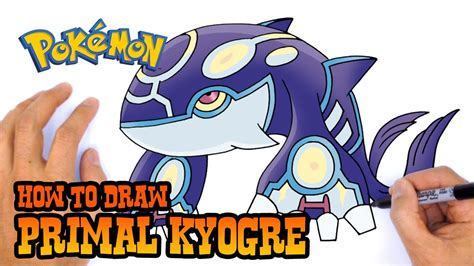 Download video How to Draw Primal Kyogre Pokemon