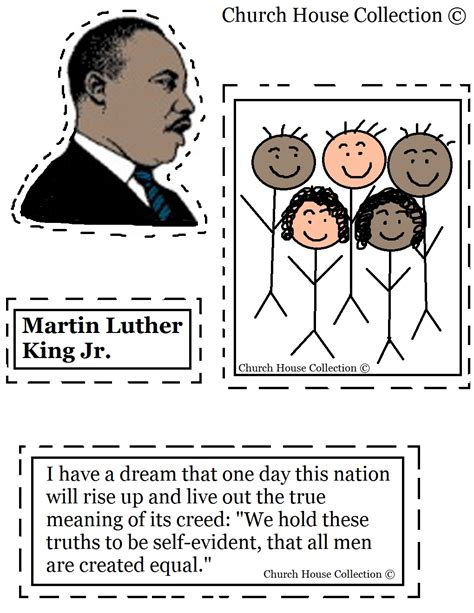 Dr Martin Luther King Jr Theme Unit and Printables