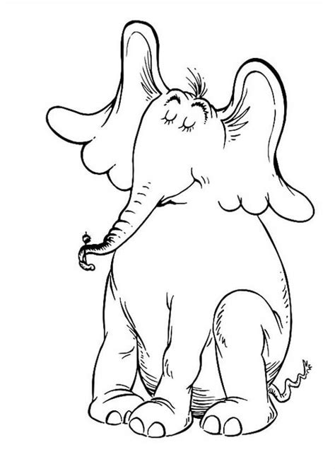 Dr Seuss Horton Hears a Who Activities Coloring Pages