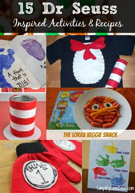 Dr Seuss Lesson Plans Printable Activities Recipes and