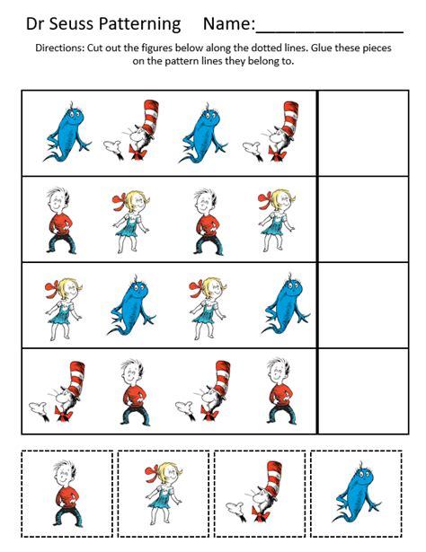 Dr Seuss Theme Unit Printables and Worksheets