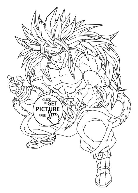 Dragon Ball Z Online Coloring Page kidssearch