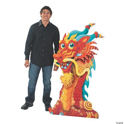 Dragon Head Cardboard Stand Up Oriental Trading