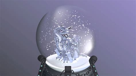Dragon in a Snow Globe How to Draw a Baby Dragon
