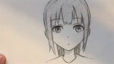 Draw How to draw a Manga girl slow tutorial HD How