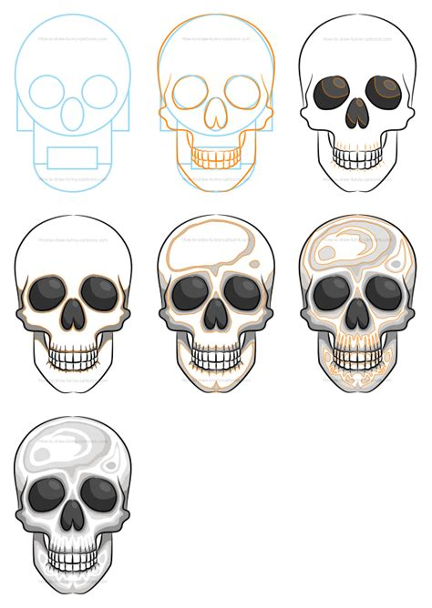 Draw Skulls Can Be This Easy Learn How To Draw Flowers