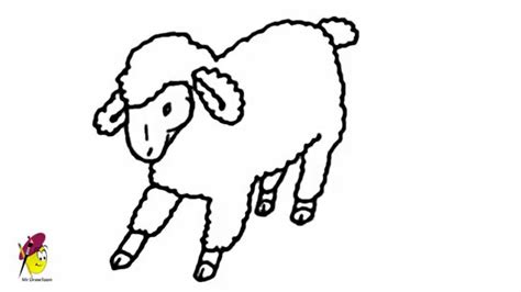 Draw cartoon animals from the farm easily How to draw