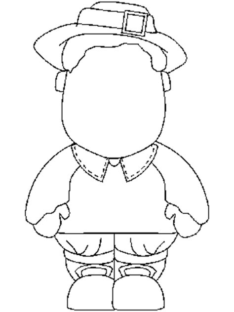 Draw the details on the Thanksgiving coloring pages