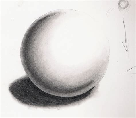 Drawing A 3D Sphere How To Draw Pencil Portraits