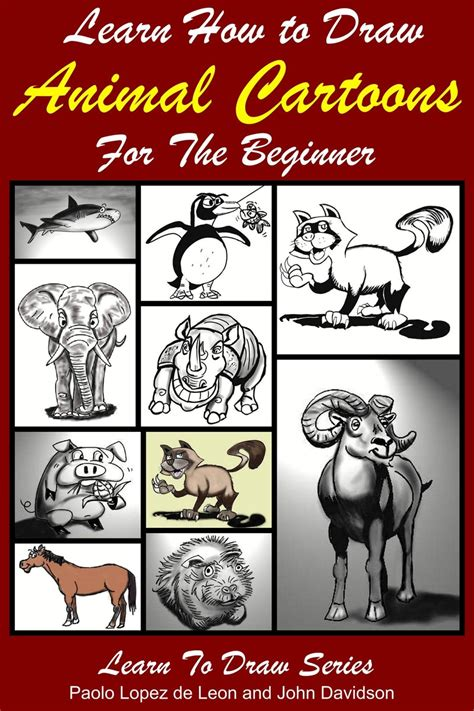 Drawing Cartoon Animals Archives How to Draw Step by