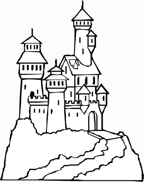 Drawing How To Draw Cartoon Castle HD Step by Step drawing lesson for kids Easy and fun