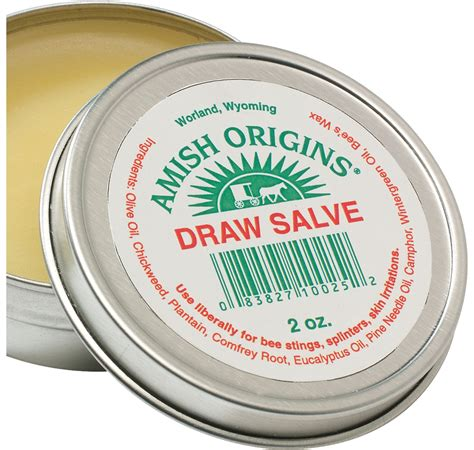 Drawing Salve for Splinters and Bee Stings