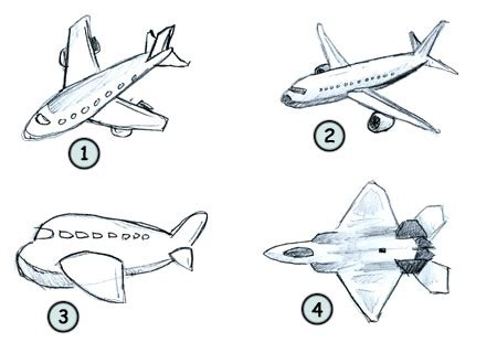 Drawing a cartoon airplane How to draw funny cartoons