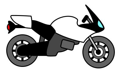 Drawing a cartoon motorcycle How to draw funny cartoons
