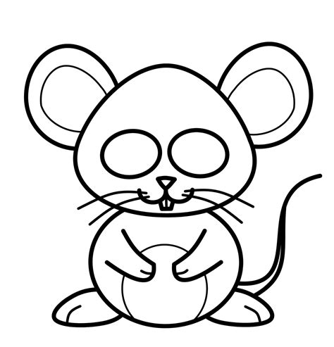 Drawing a cartoon mouse How to Draw a Mouse