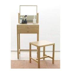 Dressing tables with mirrors stools oak white Habitat
