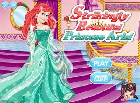 Dressup Ariel Games