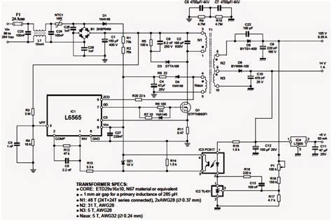 Driver for LED Street Light Circuit Wiring Diagrams