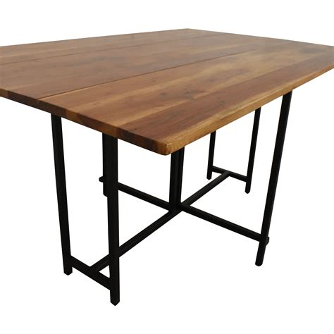 Drop Leaf Kitchen Table Crate And Barrel